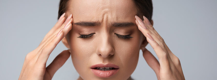 Women On Pain from Migraine