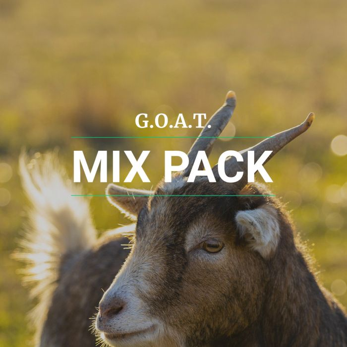 Greatest of All Time (G.O.A.T) Mix pack